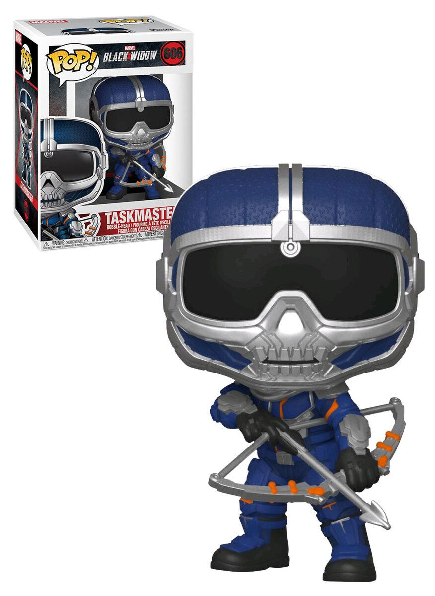 Funko Pop! Treinador com arco (Taskmaster with Bow): Viúva Negra (Black Widow) #606 - Funko
