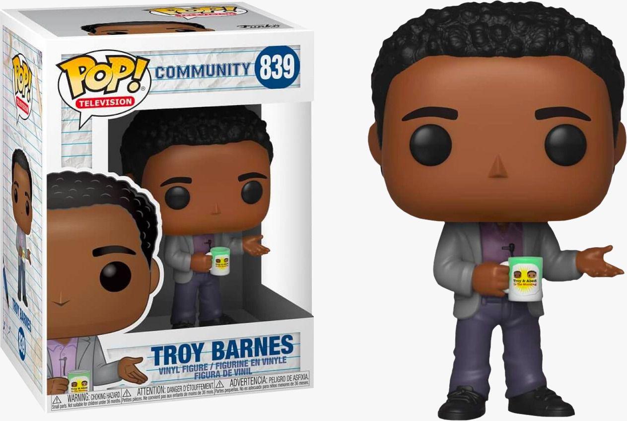PRÉ VENDA: Funko Pop! Troy Barnes: Community #839 - Funko - EV