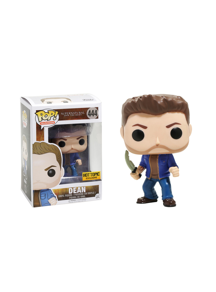 Pop Dean: Supernatural #444 - Funko (EXCLUSIVO)