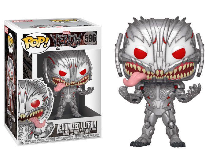 Funko Pop! Ultron Venom (Venomized Ultron): Marvel #596 - Funko