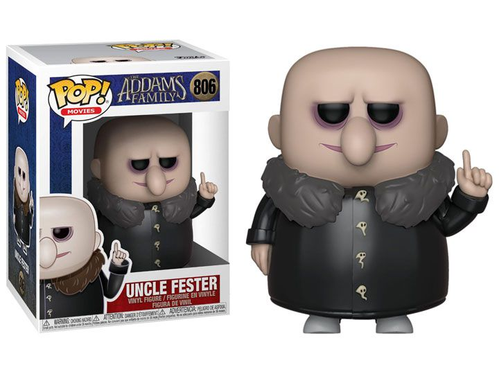 PRÉ VENDA: Funko Pop! Uncle Fester: A Família Addams (The Addams Family Animated) #806 - Funko