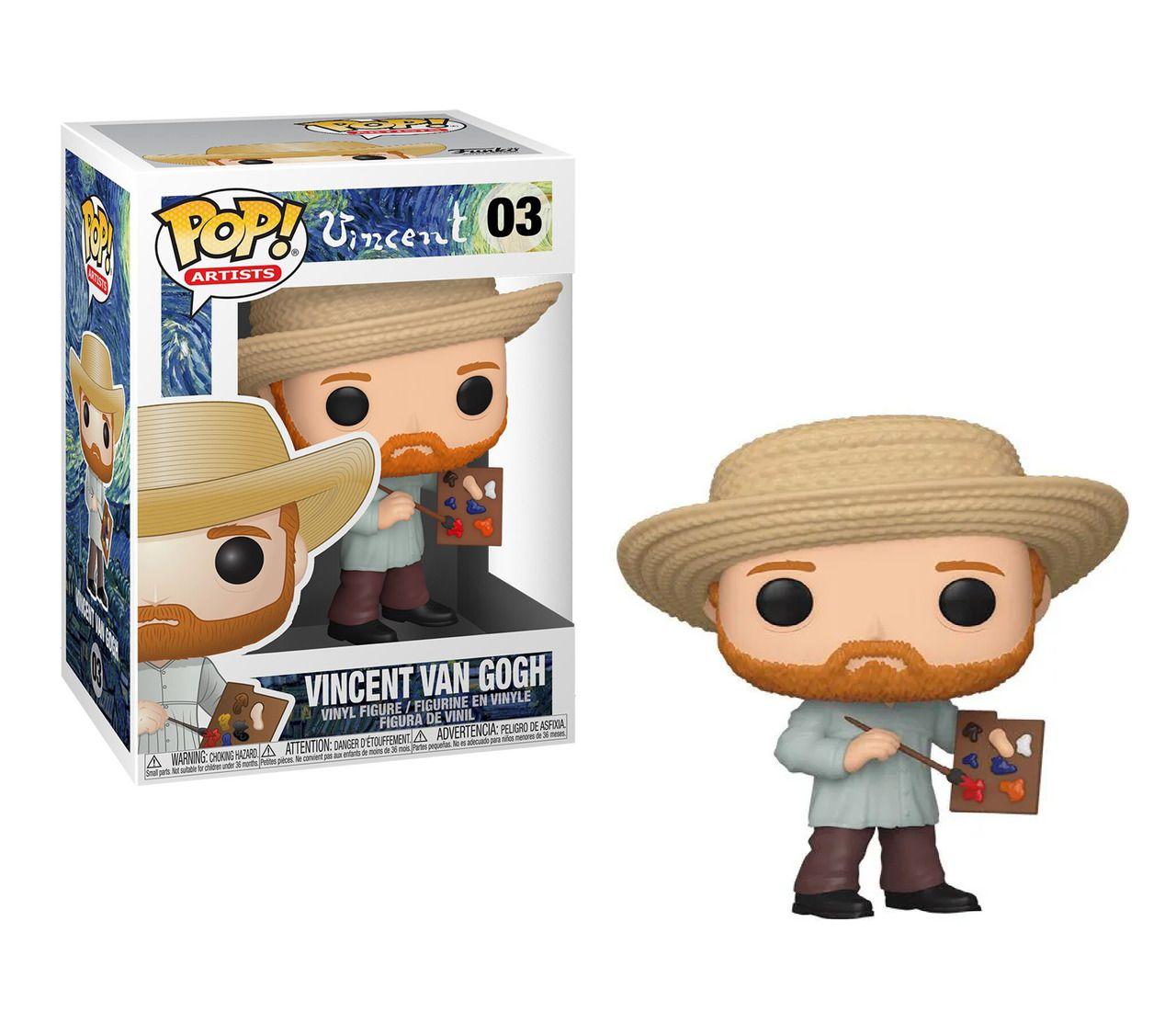Funko Pop! Vincent Van Gogh: Artists #03 - Funko