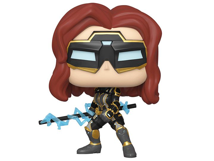 PRÉ VENDA: Funko Pop! Viúva Negra (Black Widow) Stark Tech Suit: Marvel's Vingadores (Marvel's Avengers) Game (Marvel) - Funko