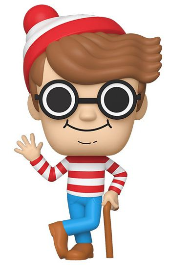 Funko Pop! Wally (Waldo): Onde Está Wally? (Where's Waldo?) - Funko #24