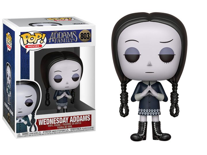 Funko Pop! Wednesday: A Família Addams (The Addams Family Animated) #803 - Funko