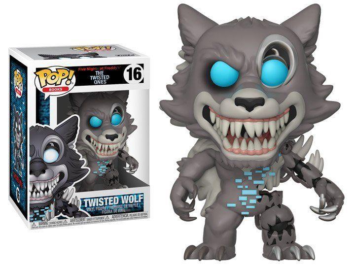 PRÉ VENDA: Funko Pop! Wolf: The Twisted Ones (FNAF) #16 - Funko