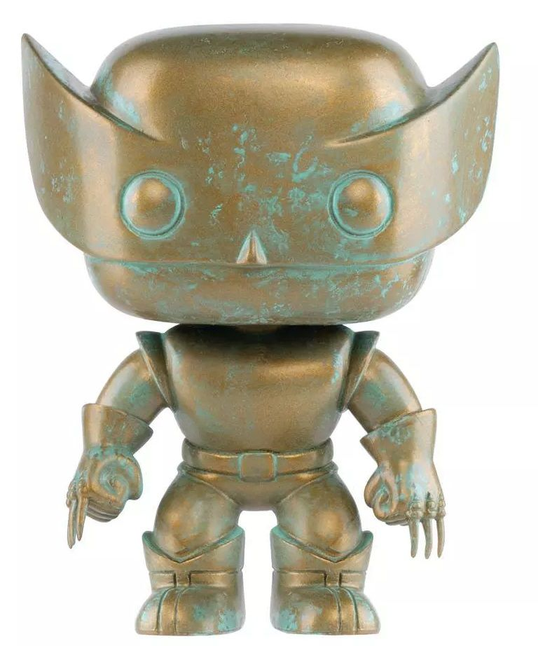 PRÉ-VENDA Pop! Wolverine (Patina): Marvel 80th (Exclusivo) #496 - Funko