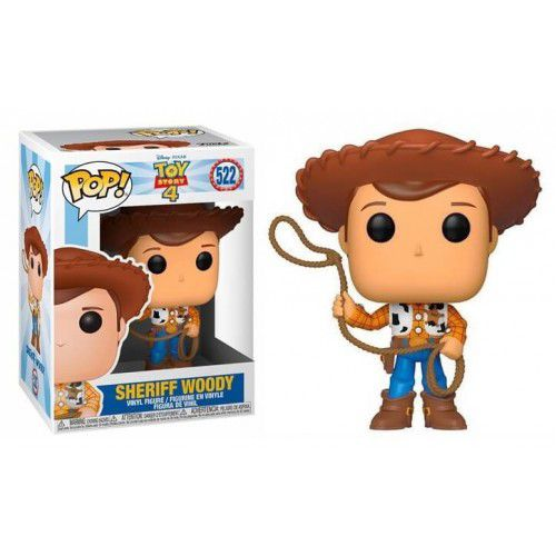 Funko Pop! Woody: Toy Story 4 (Disney) #522 - Funko