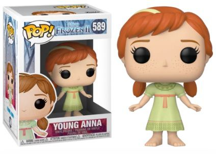 Funko Pop! Young Anna: Frozen 2 #589 - Funko