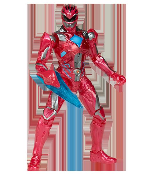 Power Rangers Filme 5: Ranger Vermelho - Bandai