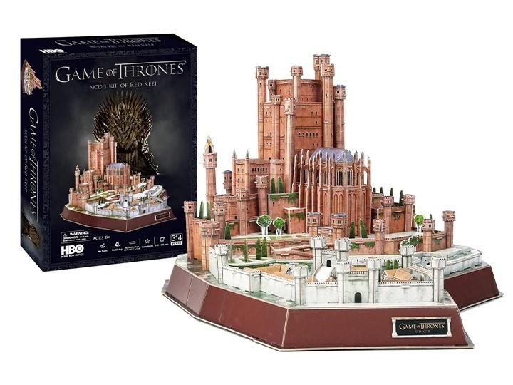 PRÉ VENDA: Quebra-Cabeça 3D The Red Keep: Game of Thrones (314 Peças) - 4D CityScape