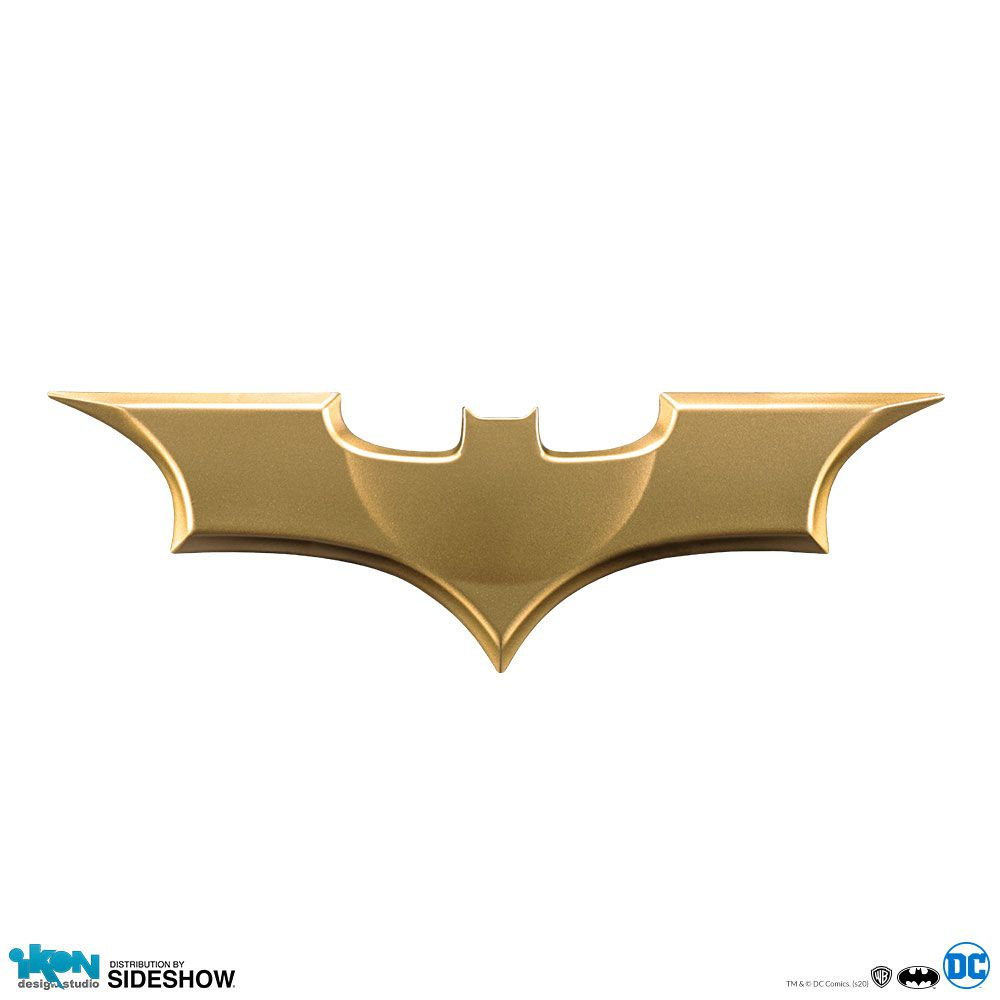 PRÉ VENDA: Réplica Batarang Die Cast: Batman O Início (Batman Begins) - Ikon Design Studio