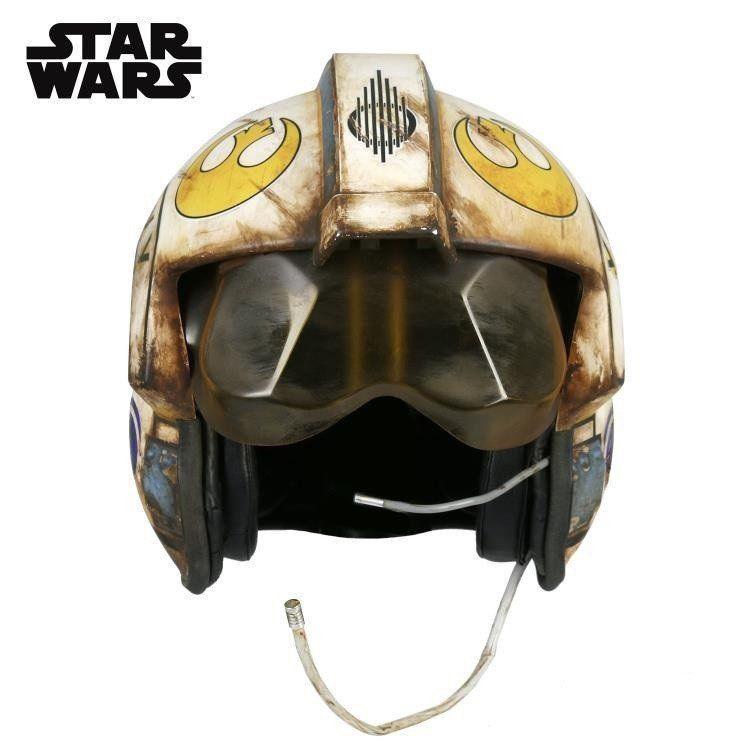 PRÉ VENDA: Réplica Capacete (Helmet) Rey Salvaged X-Wing Pilot: Star Wars: O Despertar da Força Escala 1/1 - ANOVOS Productions LLC