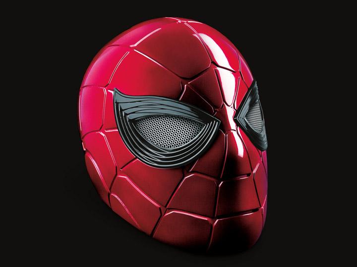 PRÉ VENDA: Réplica Capacete Vestível Eletrônico Aranha de Ferro Iron Spider: Vingadores Ultimato Avengers Endgame Marvel Legends Life Size Escala 1/1 Com LED - Hasbro