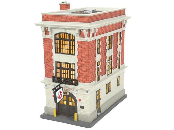 PRÉ VENDA: Réplica Ghostbusters Village Firehouse Diorama Os Caça-Fantasmas 19 cm - Enesco