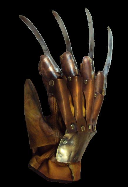PRÉ VENDA: Réplica Luva Freddy Krueger (Deluxe): A Hora do Pesadelo A Vingança de Freddy (A Nightmare on Elm Street 2)