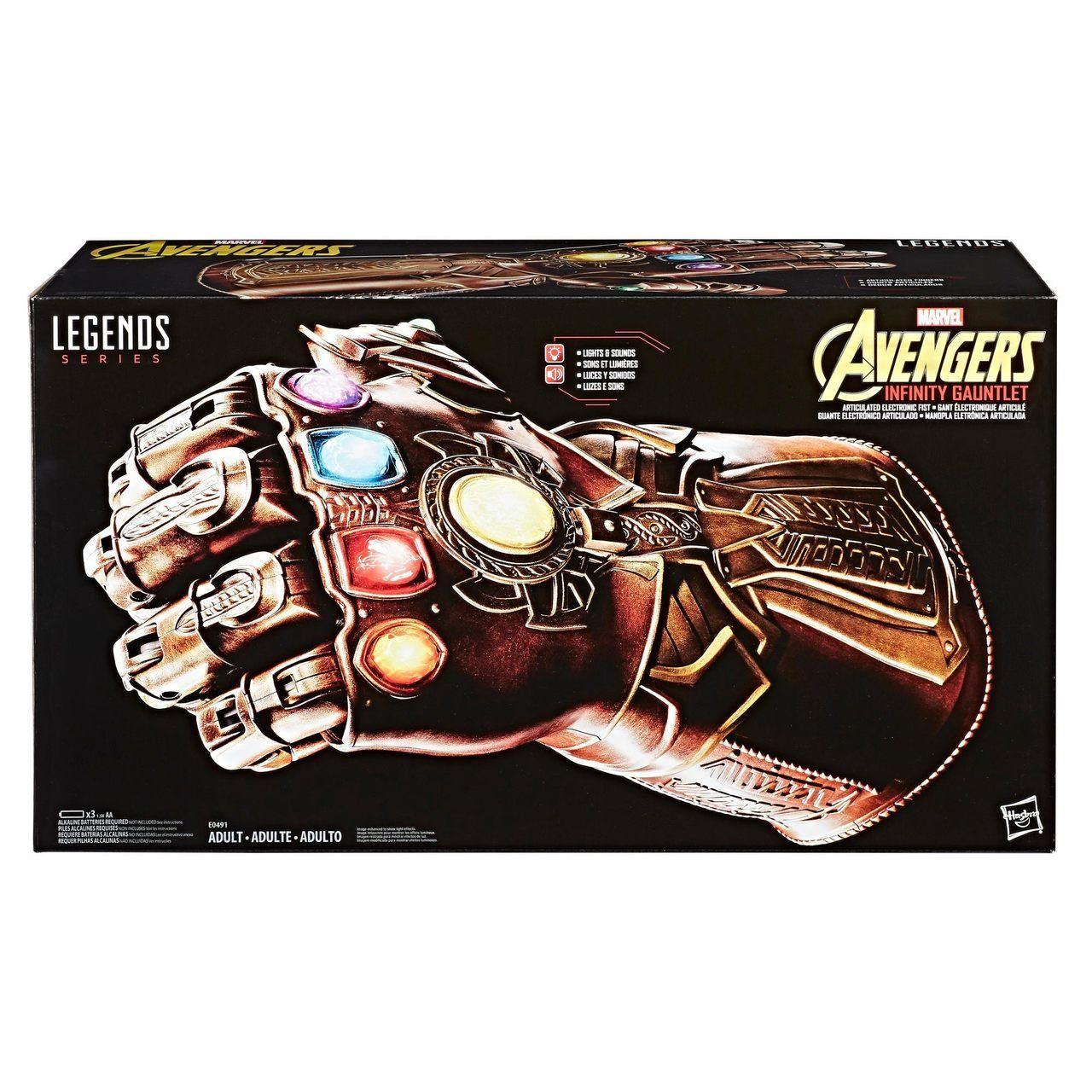 Réplica Manopla do Infinito - Thanos (Infinity Gauntlet): Vingadores Guerra Infinita (Avengers Infinity War) - Marvel Legends