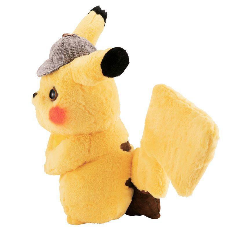 PRÉ VENDA: Réplica Pikachu (Articulado): Pokémon Detetive Pikachu (Escala 1/1) - MegaHouse