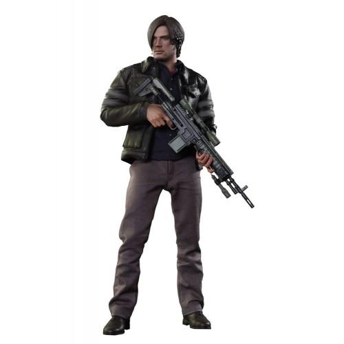 Boneco Leon Scott Kennedy: Resident Evil 6 Escala 1/6 - Hot Toys