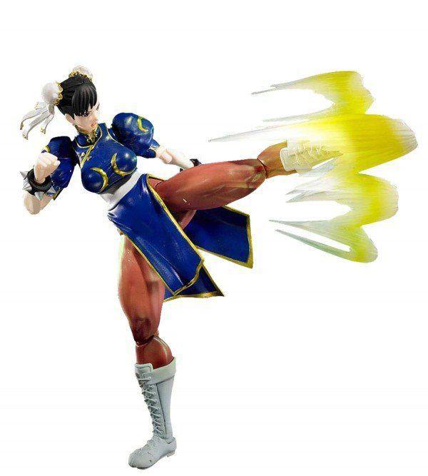 Boneco Chun-Li: Street Fighter V S.H Figuarts - Bandai