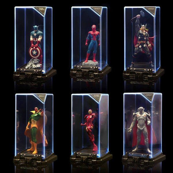 PRÉ VENDA: Set 6 Sentinelas: Marvel Super Hero Illuminate Gallery