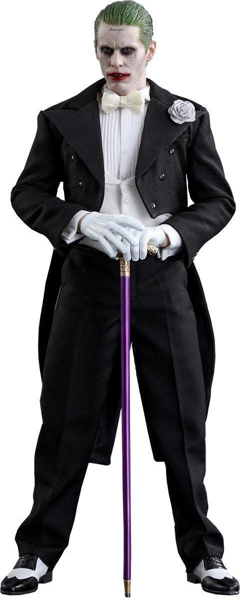 Action Figure Coringa (The Joker Tuxedo Version): Esquadrão Suicida (Suicide Squad) Escala 1/6 (MMS395) - Hot Toys
