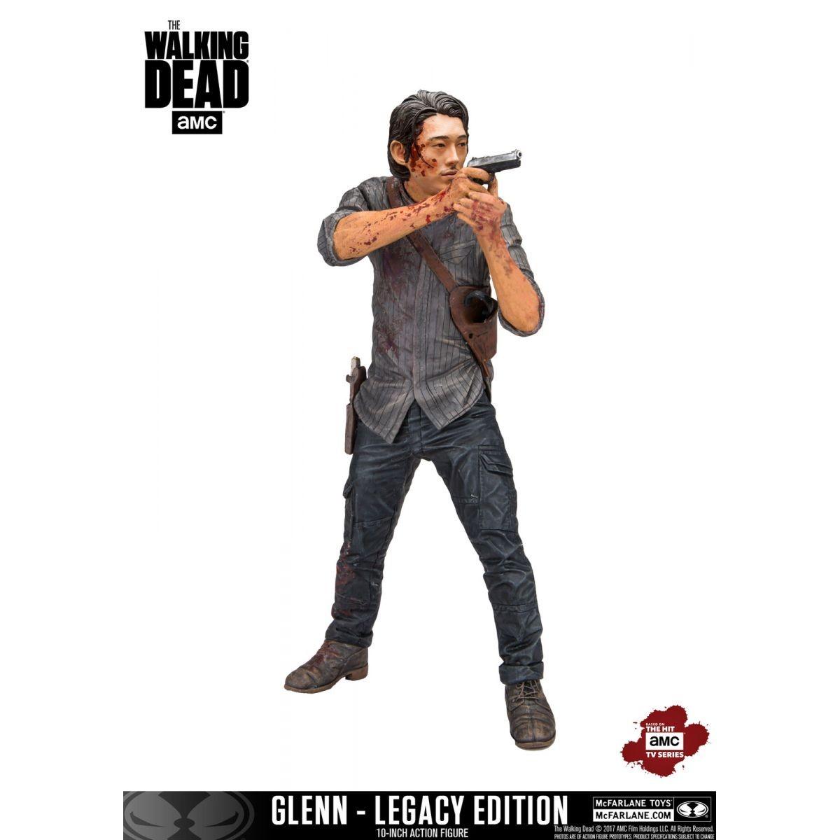 PRÉ VENDA: Estátua Glenn Rhee Legacy Edition: The Walking Dead Escala 1/10 - Mcfarlane Toys