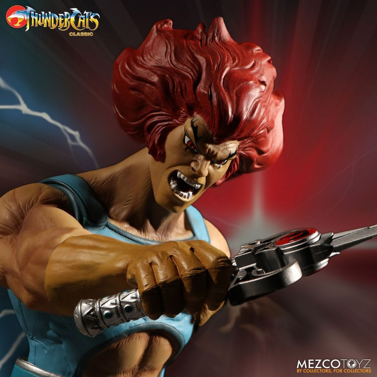 Boneco Lion-O: Thundercats Mega Scale Deluxe Edition - Mezco