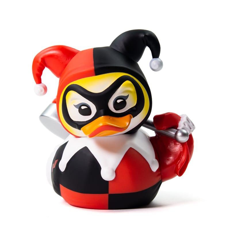 PRÉ VENDA: Tubbz Arlequina (Harley Quinn): DC Comics (Cosplaying Duck Collectible) Patinho Colecionável