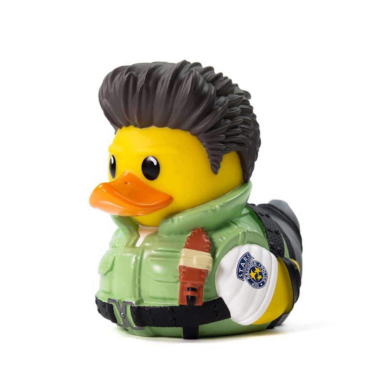 PRÉ VENDA: Tubbz Chris Redfield: Resident Evil (Cosplaying Duck Collectible) Patinho Colecionável
