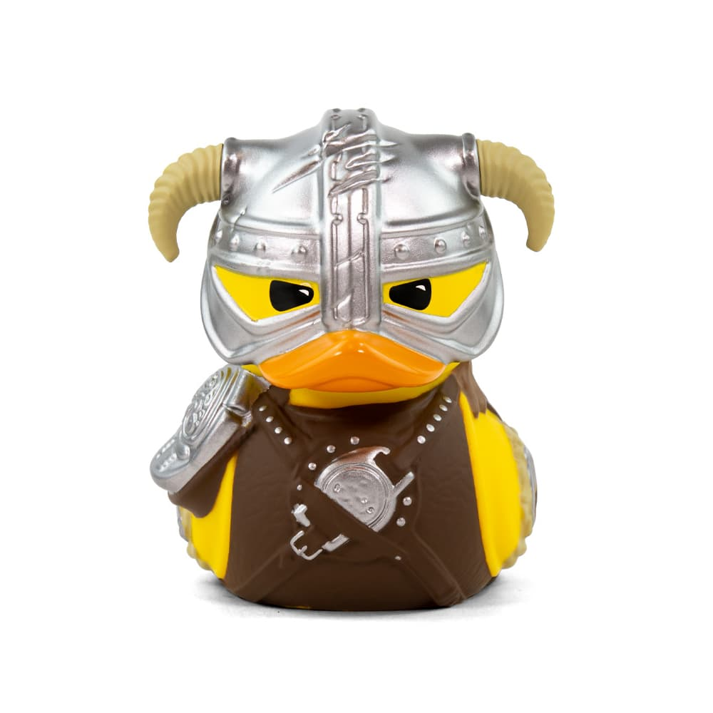 PRÉ VENDA: Tubbz Dovahkiin: The Elder Scrolls V Skyrim (Cosplaying Duck Collectible) Patinho Colecionável