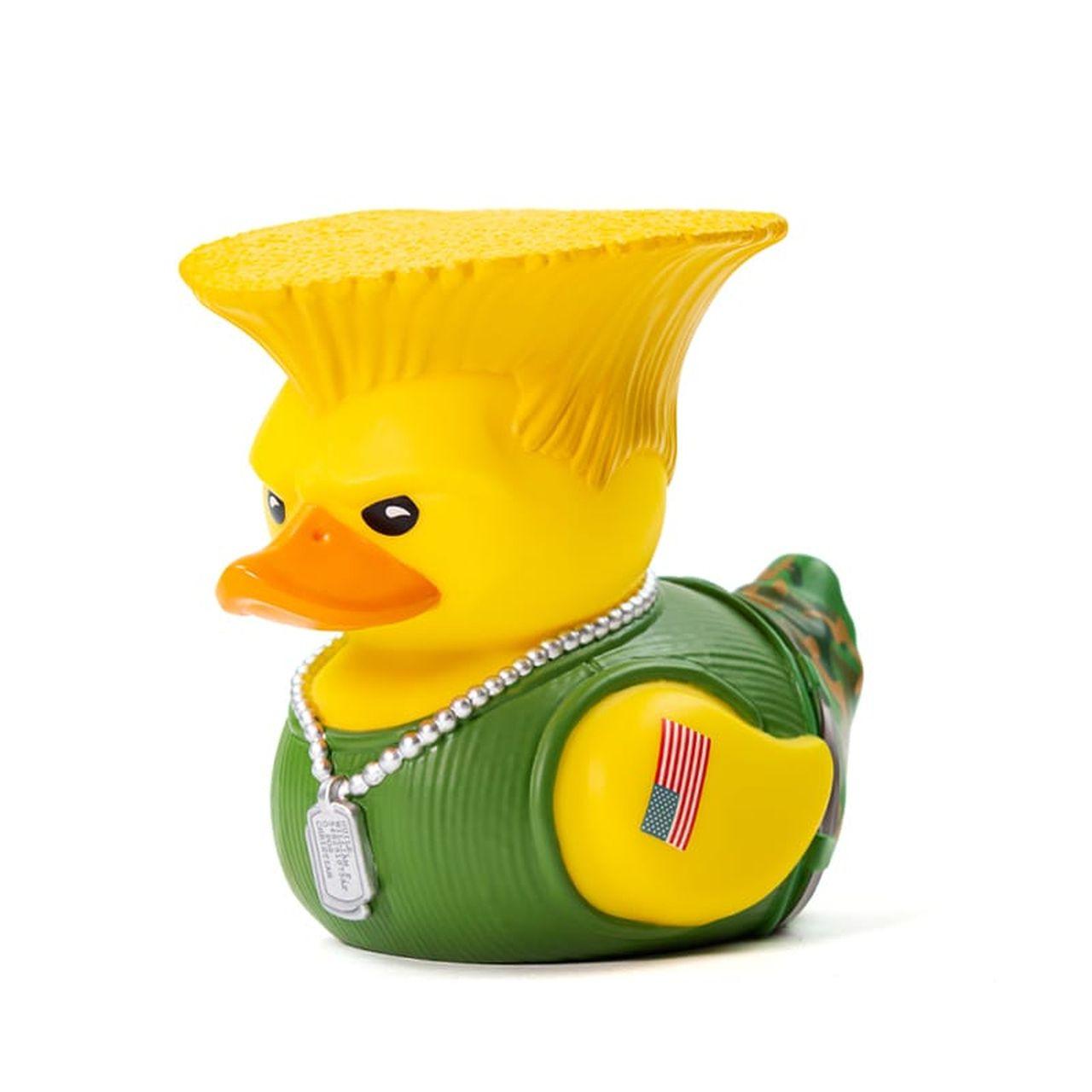 PRÉ VENDA: Tubbz Guile: Street Fighter (Cosplaying Duck Collectible) Patinho Colecionável
