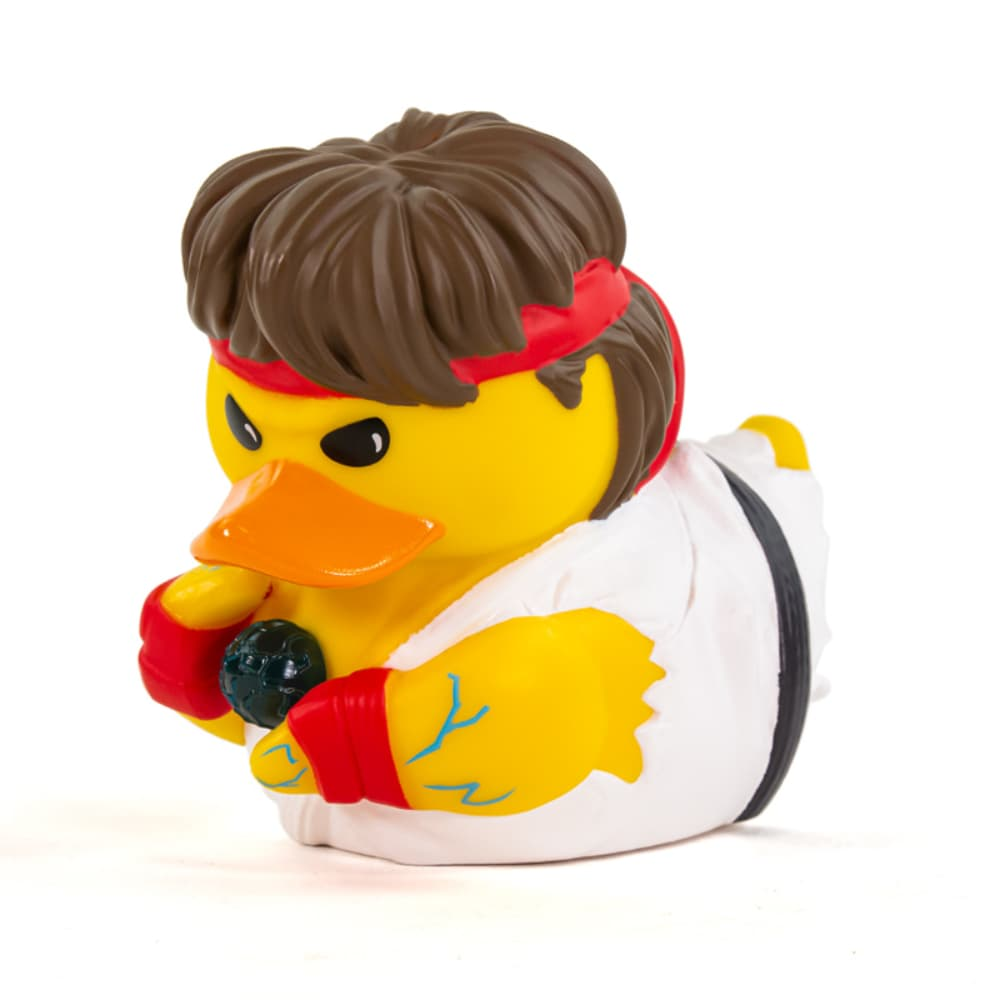 PRÉ VENDA: Tubbz Ryu: Street Fighter (Cosplaying Duck Collectible) Patinho Colecionável