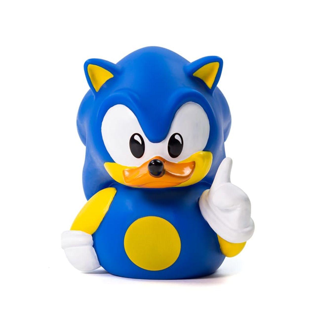 PRÉ VENDA: Tubbz Sonic: Sonic the Hedgehog (Cosplaying Duck Collectible) Patinho Colecionável - EV