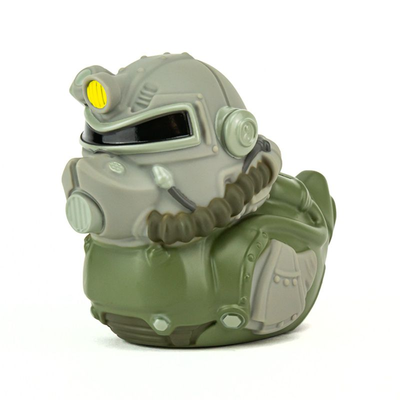 PRÉ VENDA: Tubbz T-51: Fallout (Cosplaying Duck Collectible) Patinho Colecionável