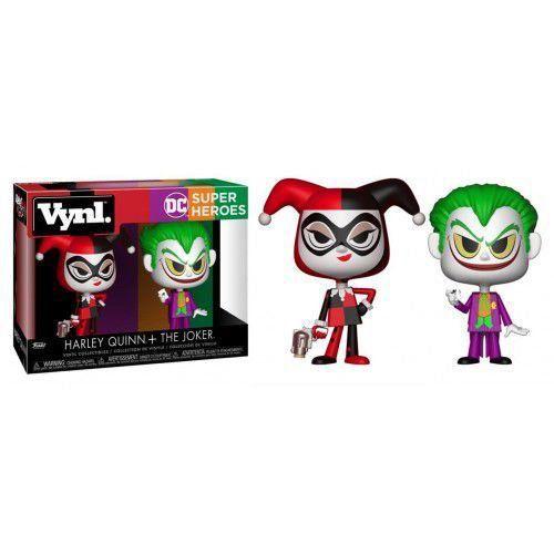PRÉ VENDA: Vynl Harley Quinn + The joker: DC comic's - Funko