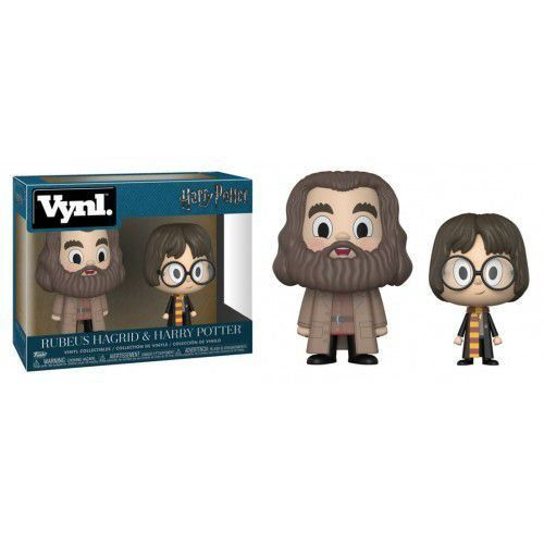 Funko Vynl Rubeus Hagrid e Harry Potter: Harry Potter - Funko