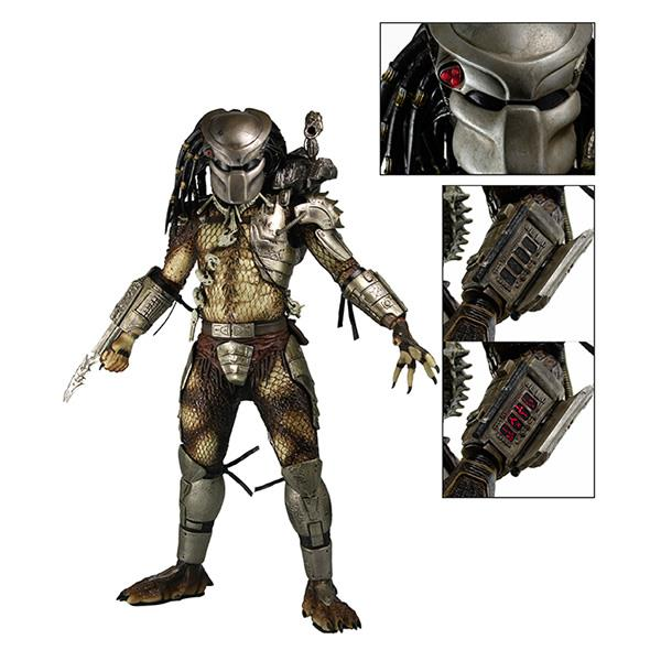 Predador / Predator Jungle Hunter com LED Lights Escala 1/4 - Neca