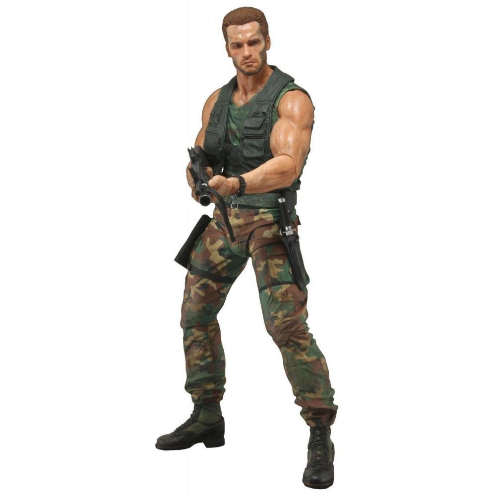 Predador / Predator Jungle Patrol Dutch Arnold Schwarzenegger 1:4 - Neca