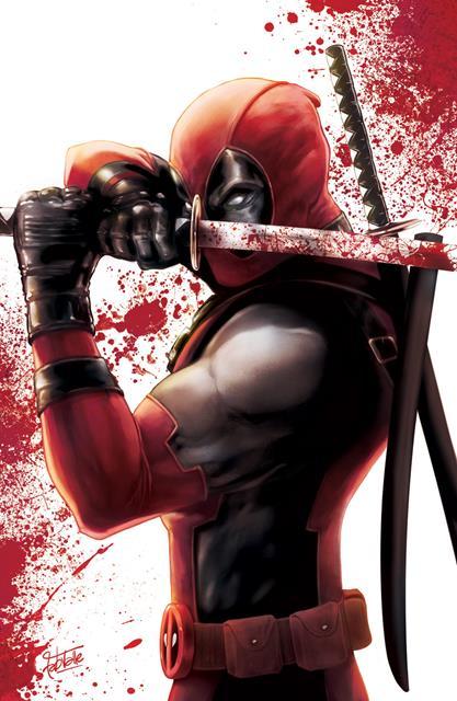 Print: Deadpool Poster - Fabio Valle