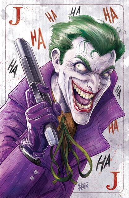 Print: Joker Poster - Fabio Valle