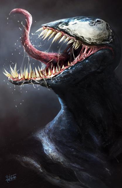 Print: Venom Poster - Fabio Valle