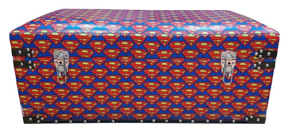 Puff Baú Superman: DC Comics Logos Pequeno - Urban