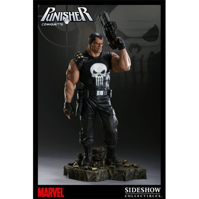 Estátua Justiceiro (Punisher): Marvel Comics Comiquette - Sideshow