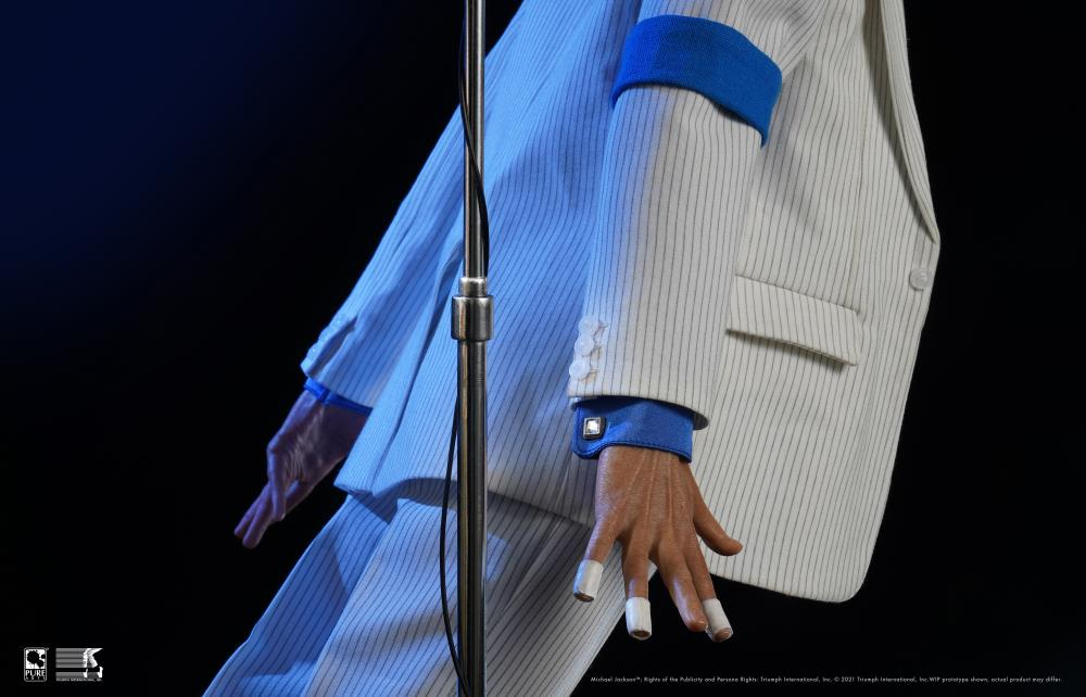 PRÉ VENDA: Estátua Michael Jackson Smooth Criminal Deluxe Escala 1/3 Limited Edition Edição Limitada - Pure Arts