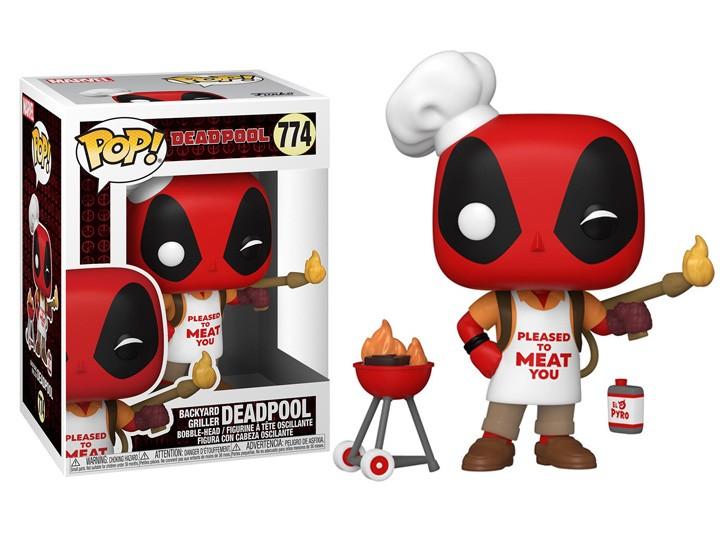 Funko Pop!: Backyard Griller 30th Anniversary - Aniversario de 30 Anos Marvel Funko Fair #774 -  Funko