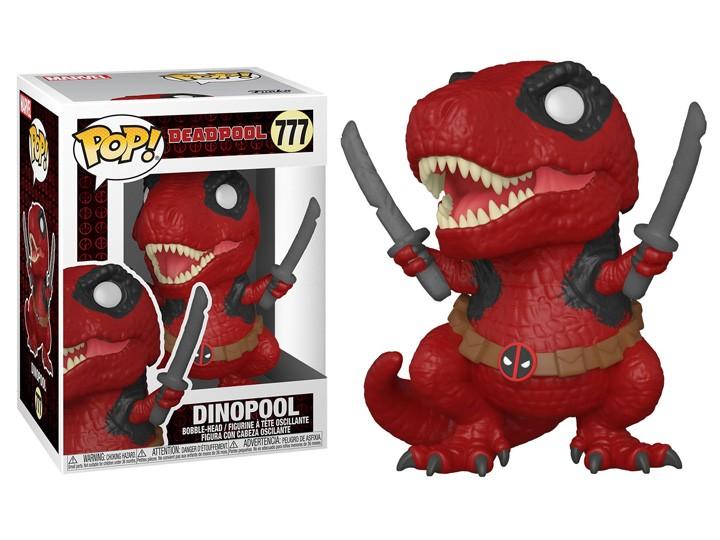 PRÉ VENDA: Funko Pop!: Dinopool 30th Anniversary - Aniversario de 30 Anos Marvel Funko Fair #777 -  Funko