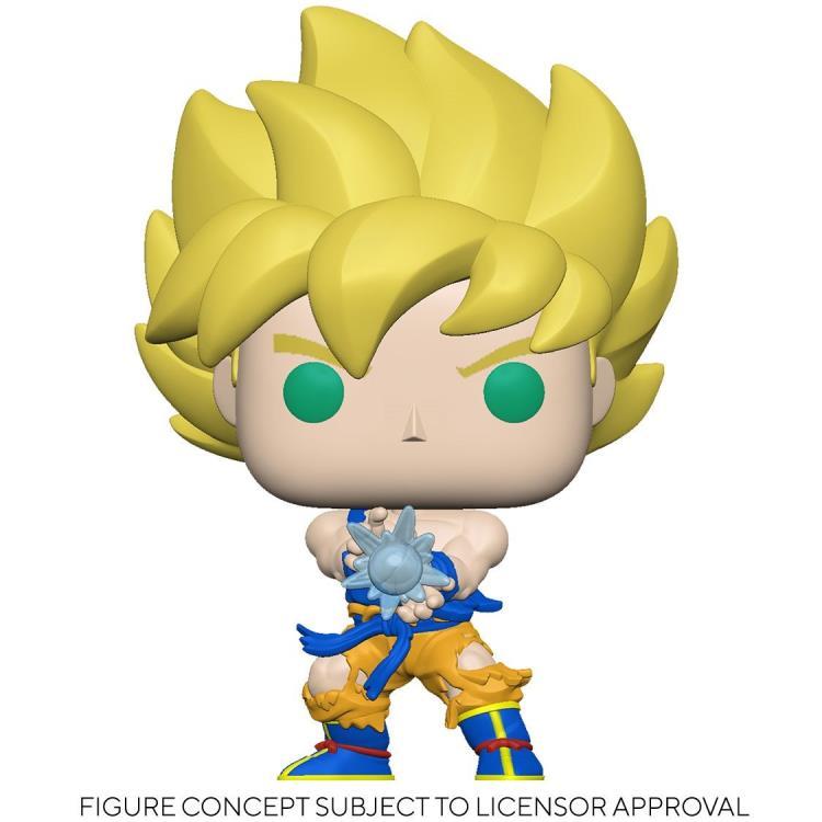 Funko Pop! Dragon Ball Z:  Goku Super Saiyajin Kamehameha Exclusivo Funko Fair - Anime Manga -  Funko