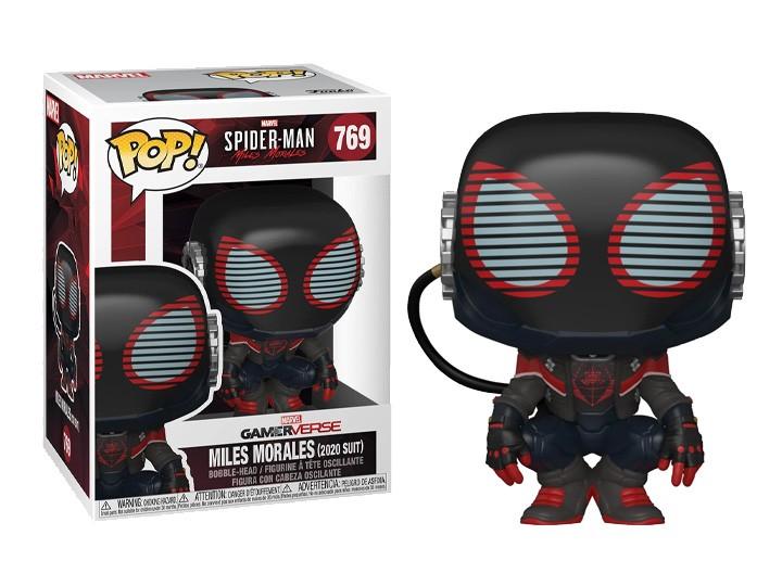 Funko Pop! Games: Marvel's Spider-Man Miles Morales 2020 Suit Exclusivo Funko Fair -  Funko