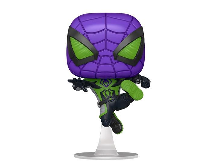 PV: Funko Pop! Games: Marvel's Spider-Man Miles Morales Purple Reign Exclusivo Funko Fair -  Funko